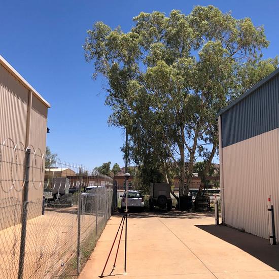Levantamento com RS2 na Austrália