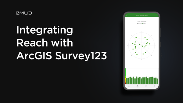 Guide to Integrating Reach RS2 with ArcGIS Survey 123