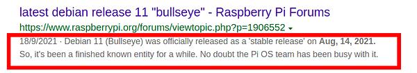 Raspberry Bullseye