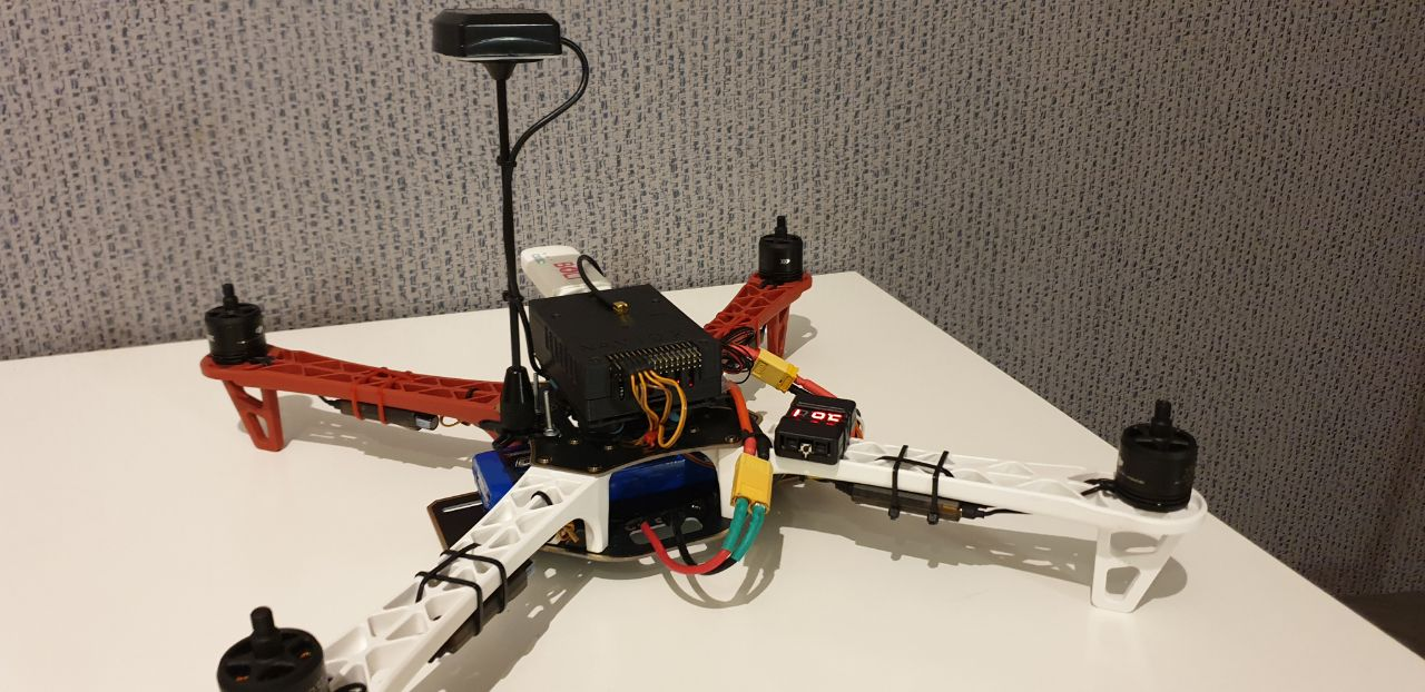 1st Drone Build: Navio2 on F450 + LTE + Joystick(no radio) +