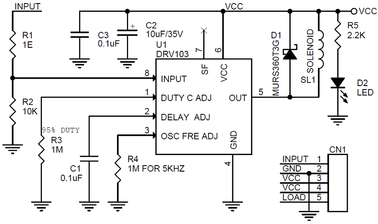 Use DRV103 to drive valve and PWM solenoid - Community Forum