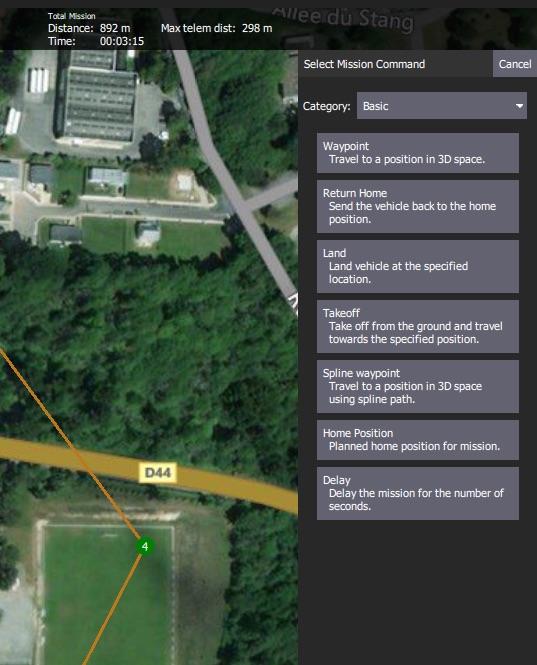 Emlid Edge - Mission Planner configuration - Flight stack