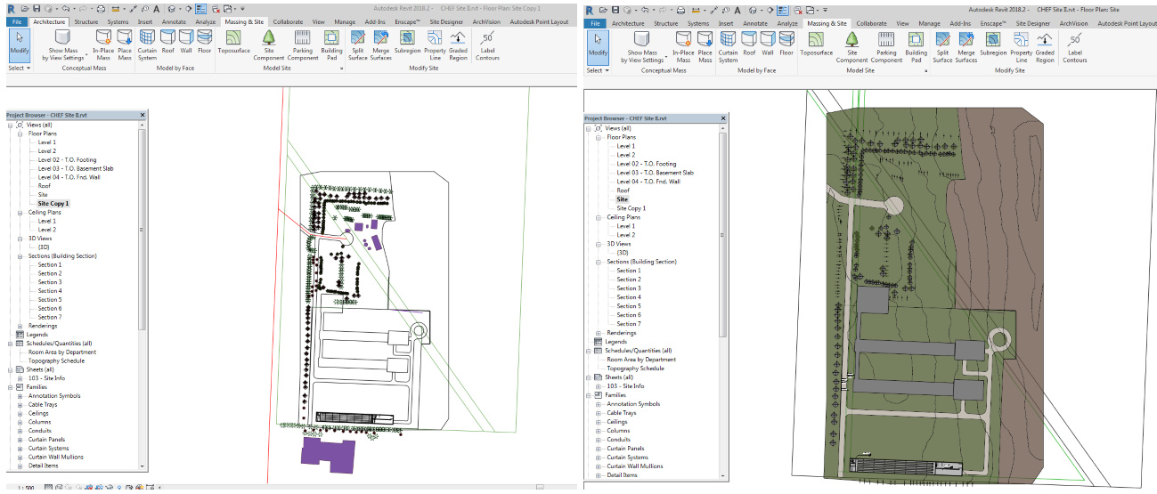 Reach RS to Autodesk Revit Architectural Software - Project share