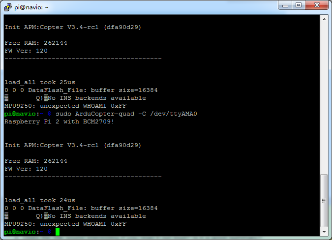 MPU9250 :unexpected WHOAMI 0XFF - Hardware - Community Forum