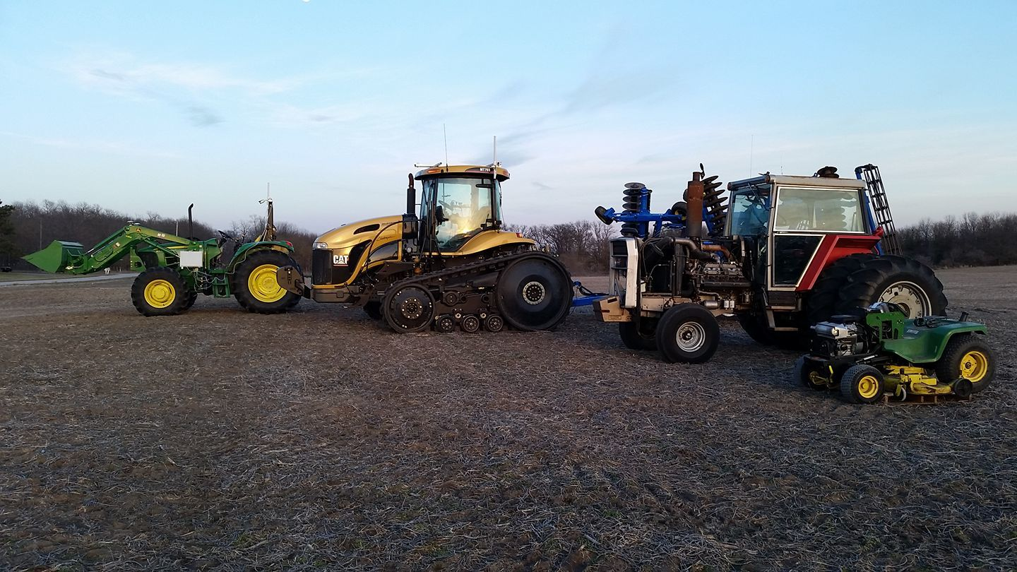 Tractor installation advice welcome - Project share