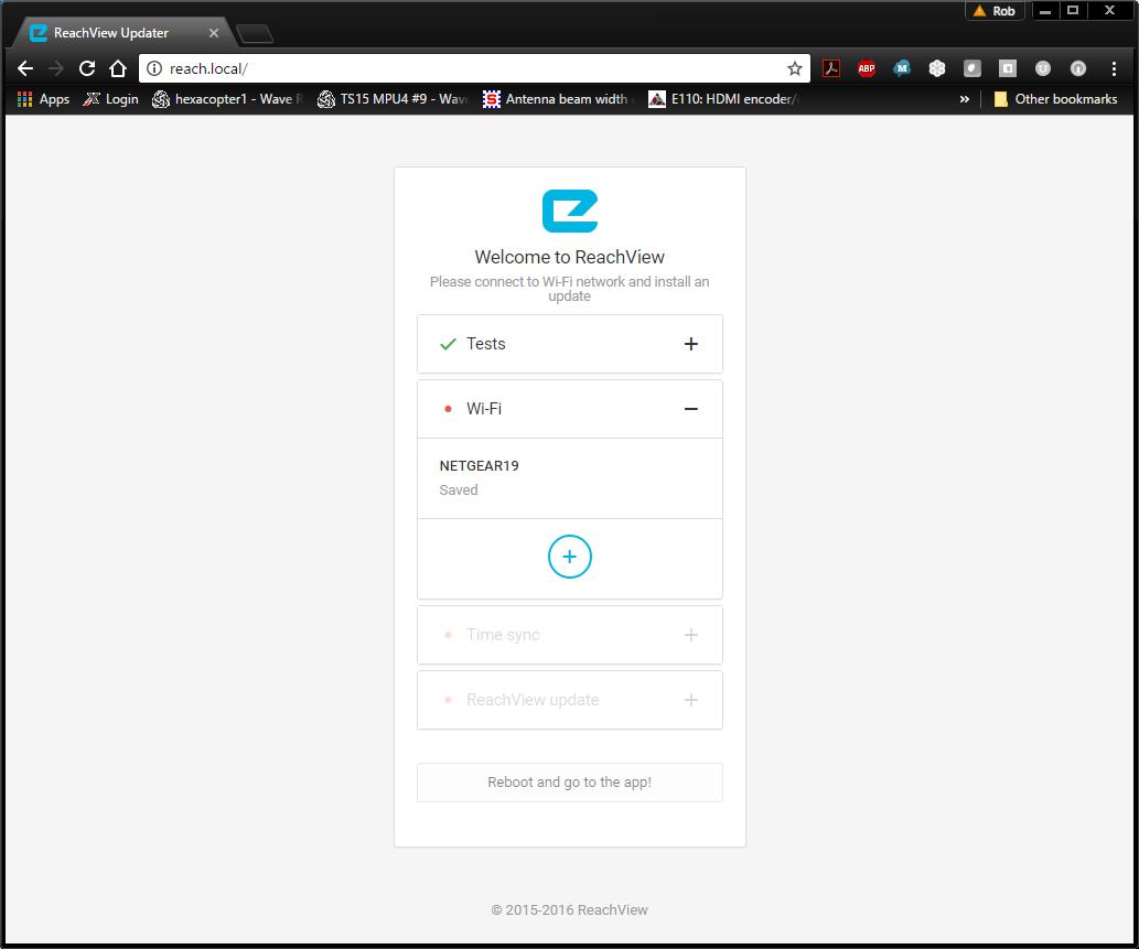 ReachView 2 beta v2 1 3(and new image) - News - Community Forum