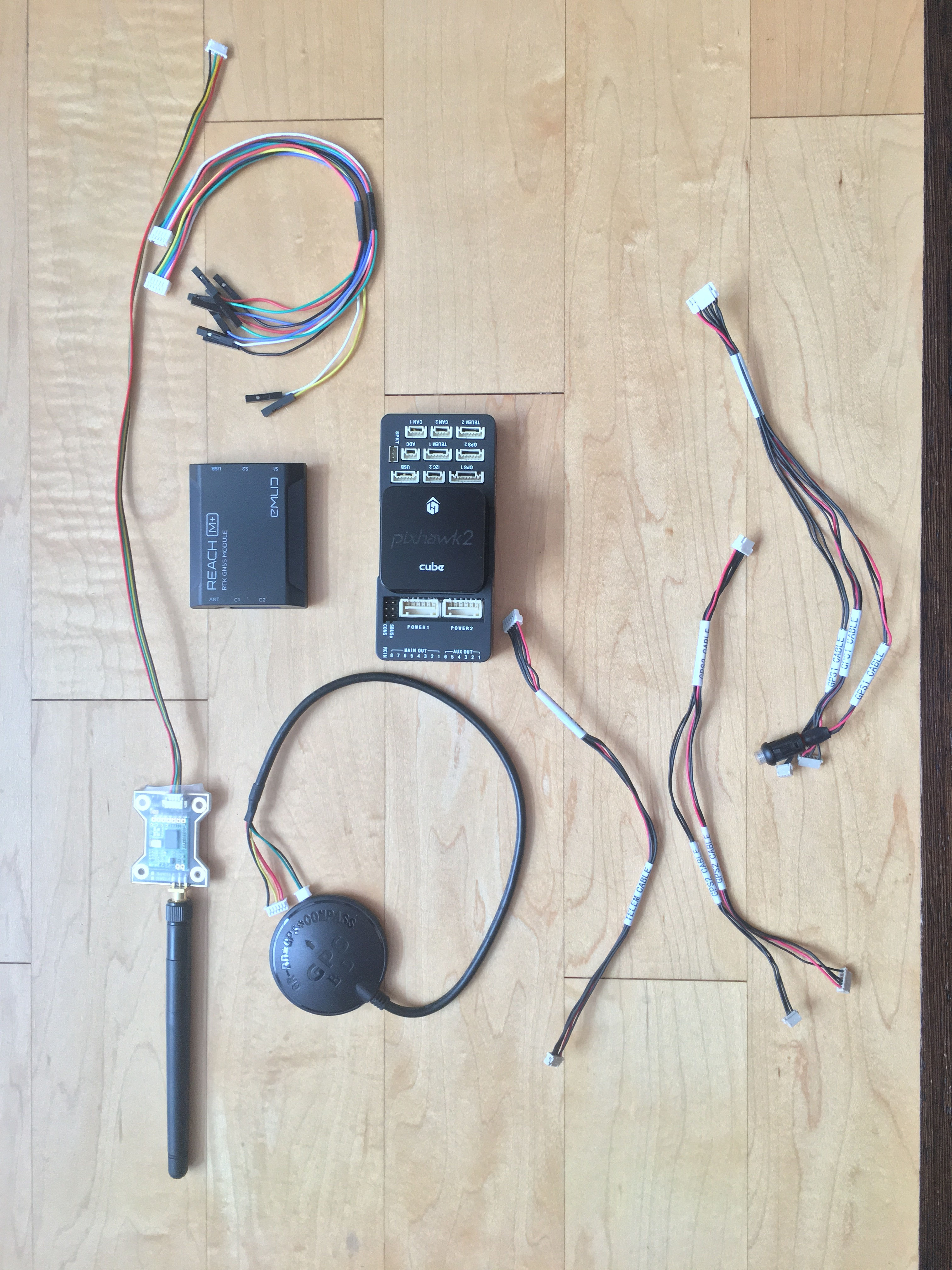 Pixhawk 2 1 Cube / Reach M+ RTK / RTK / Ublox NEO-M8N