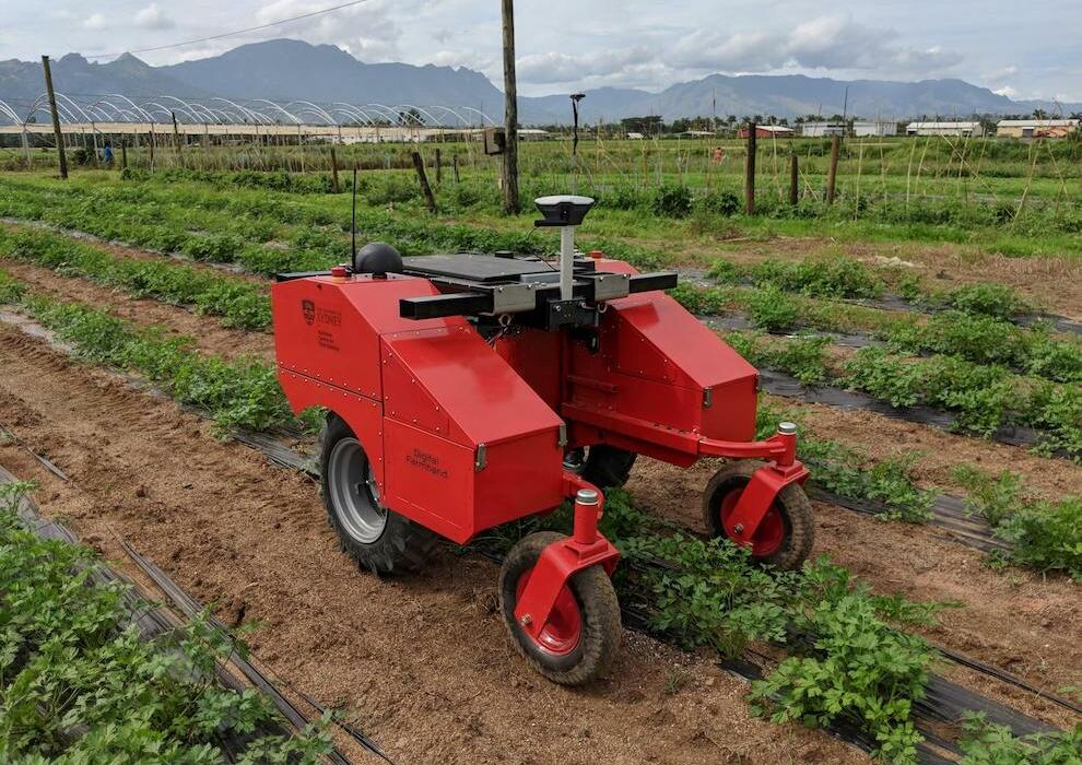 Digital Farmhand is collecting data for crop analysis